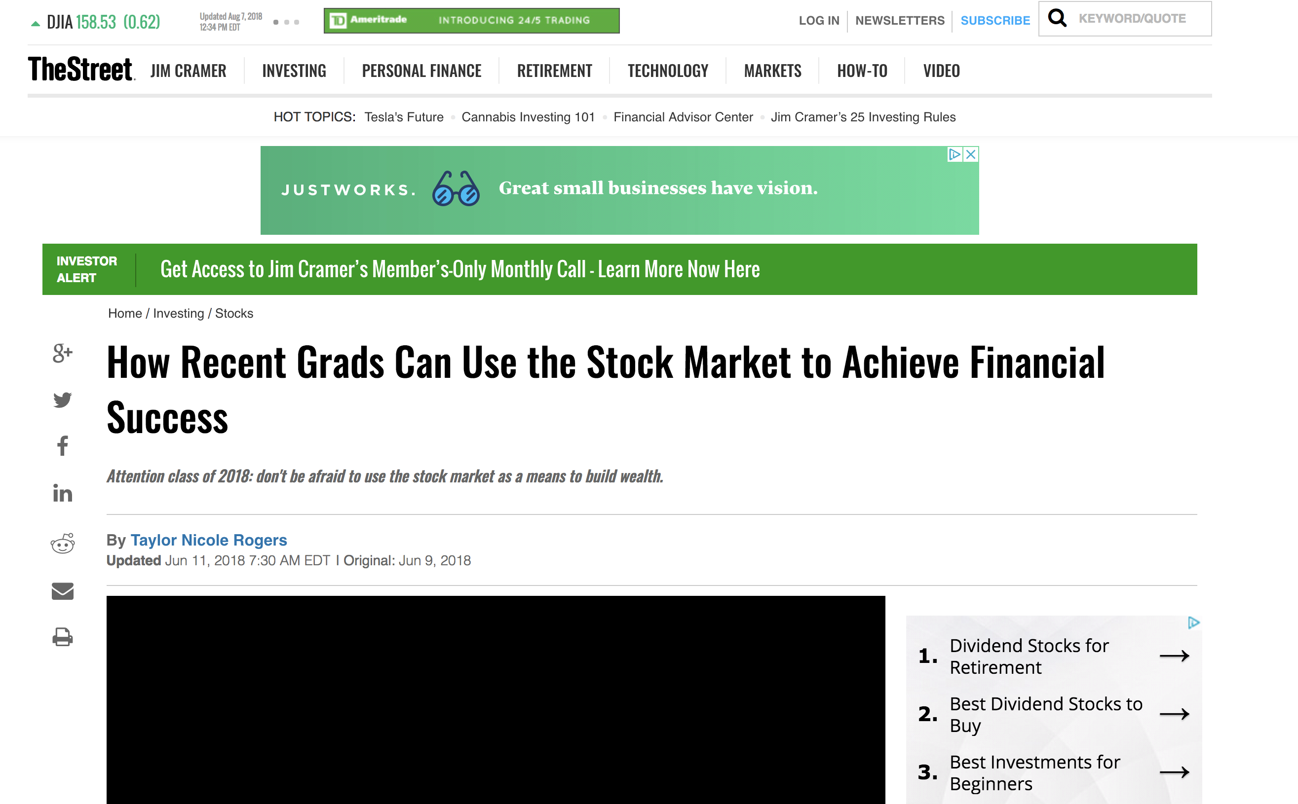 How Recent Grads Can Use the Stock Market to Achieve